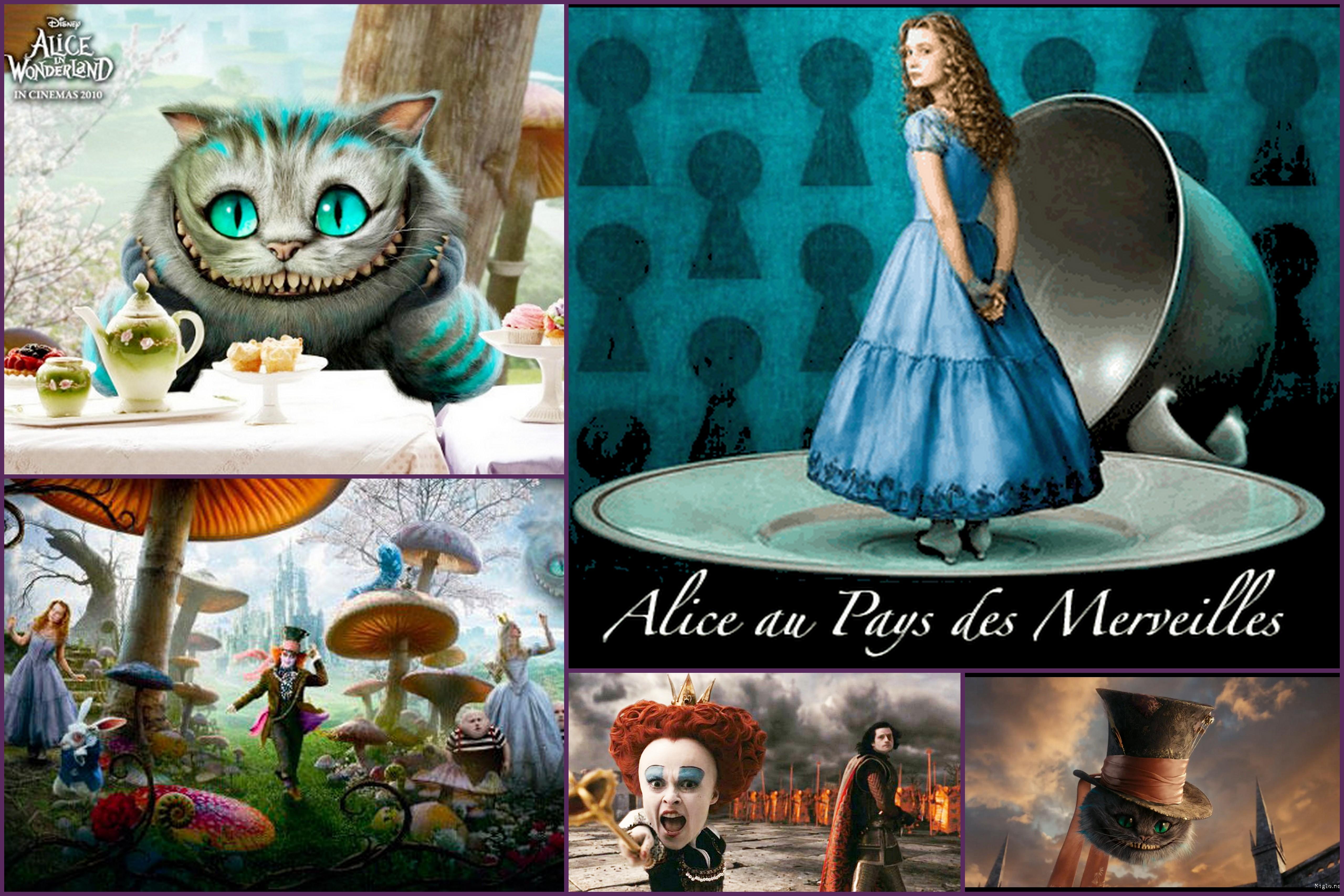 Alice au pays des merveilles de tim burton des - La cuisine d alice au pays des merveilles ...