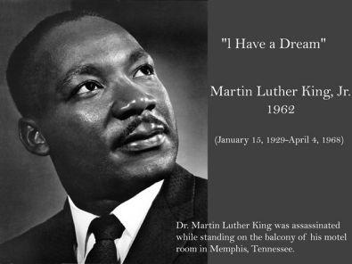 biographie de martin luther king en anglais