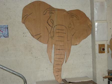 Les animaux du roi lion par les l ves de la segpa des touleuses cergy blog des l ves for Peinture pour contreplaque