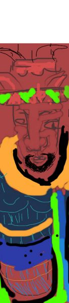 Dessin au pixel : le roi Lalibela