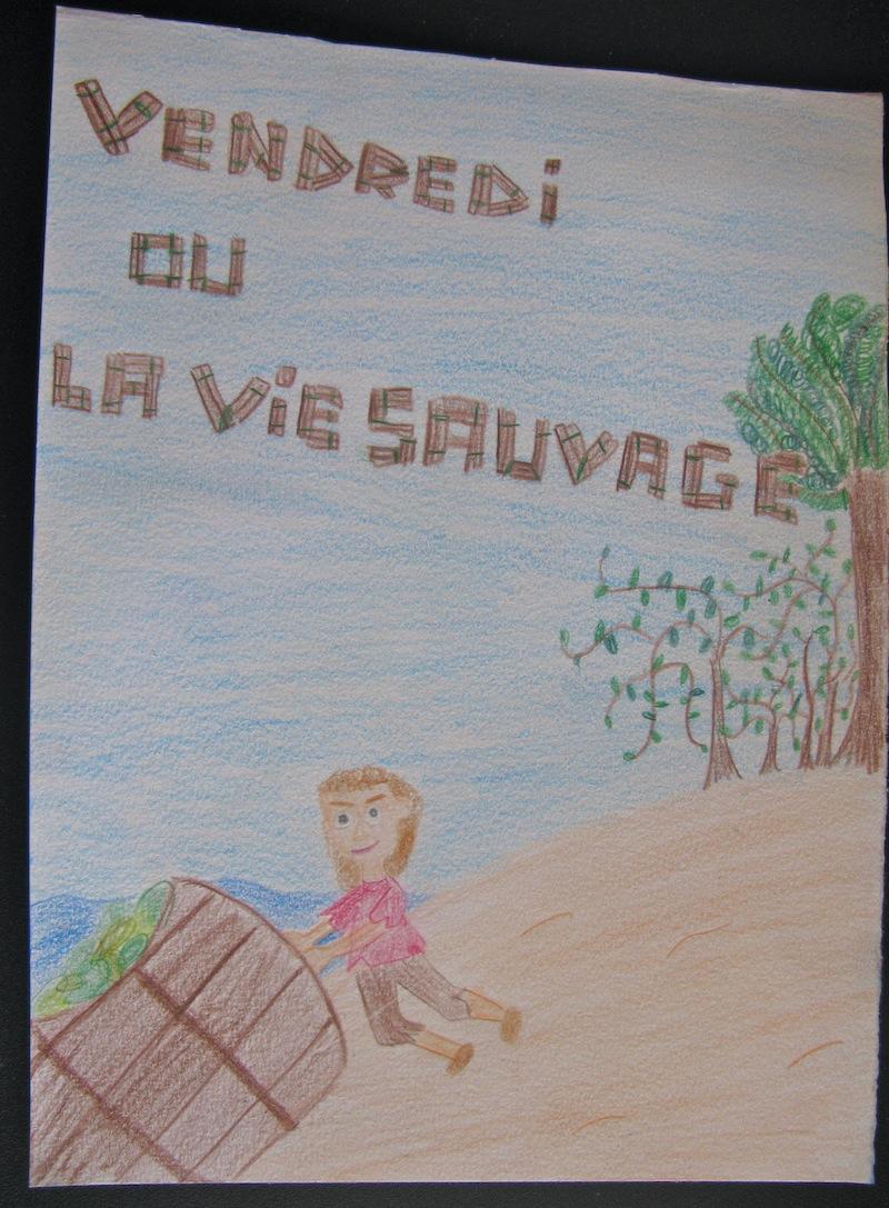 Vendredi Ou La Vie Sauvage Les Arts Plastiques Au College