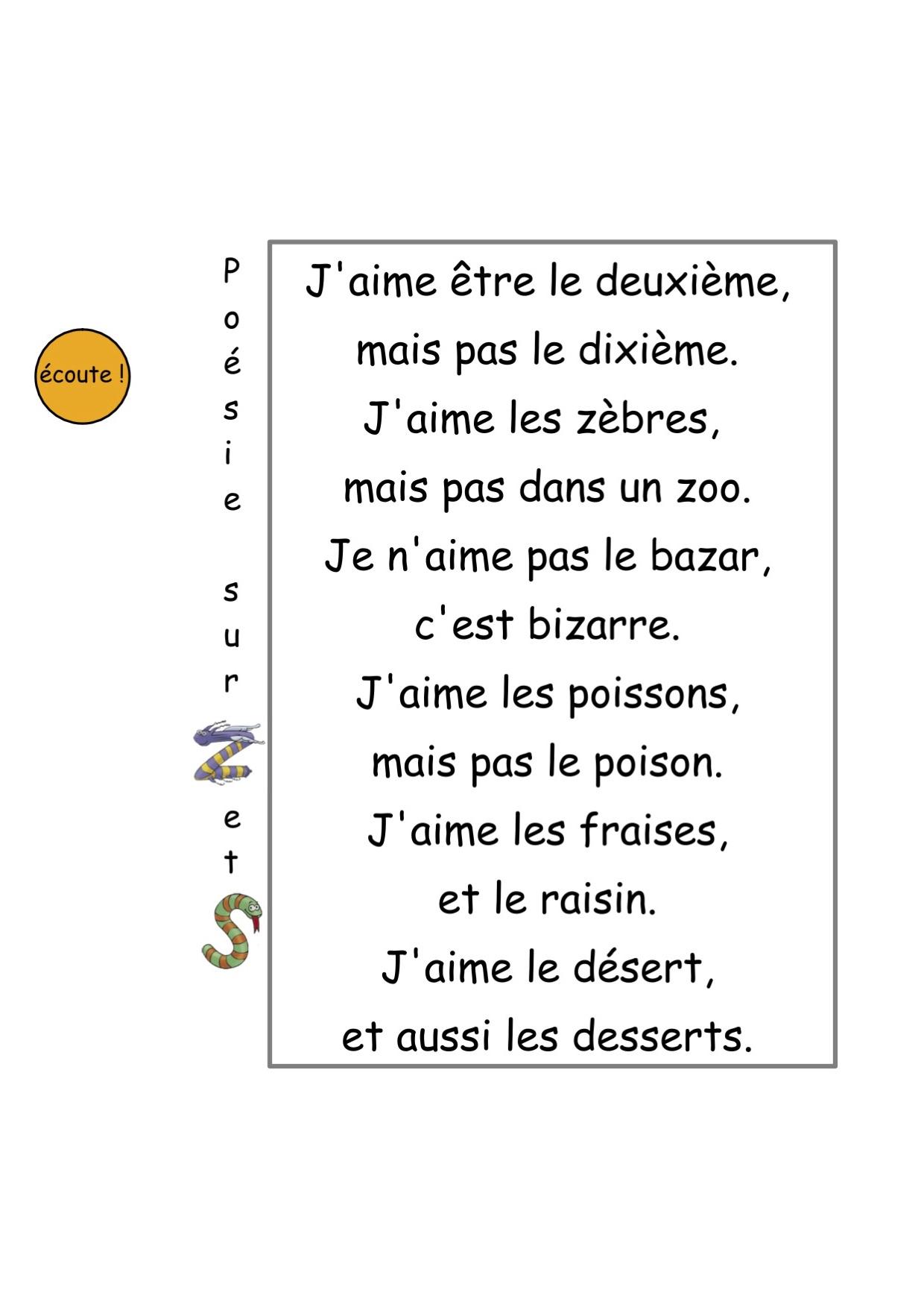 Livres En Français Jaime Pas La Poésie Alemdadly