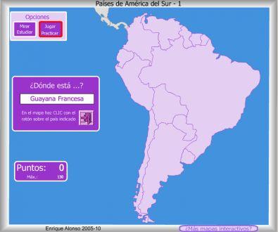 Mapa Interactivo America Capitales.Mapas Interactivos De America Latina Que Tal Pompi