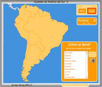 Mapas Interactivos De América Latina El Español En Pompidou Nos Gusta