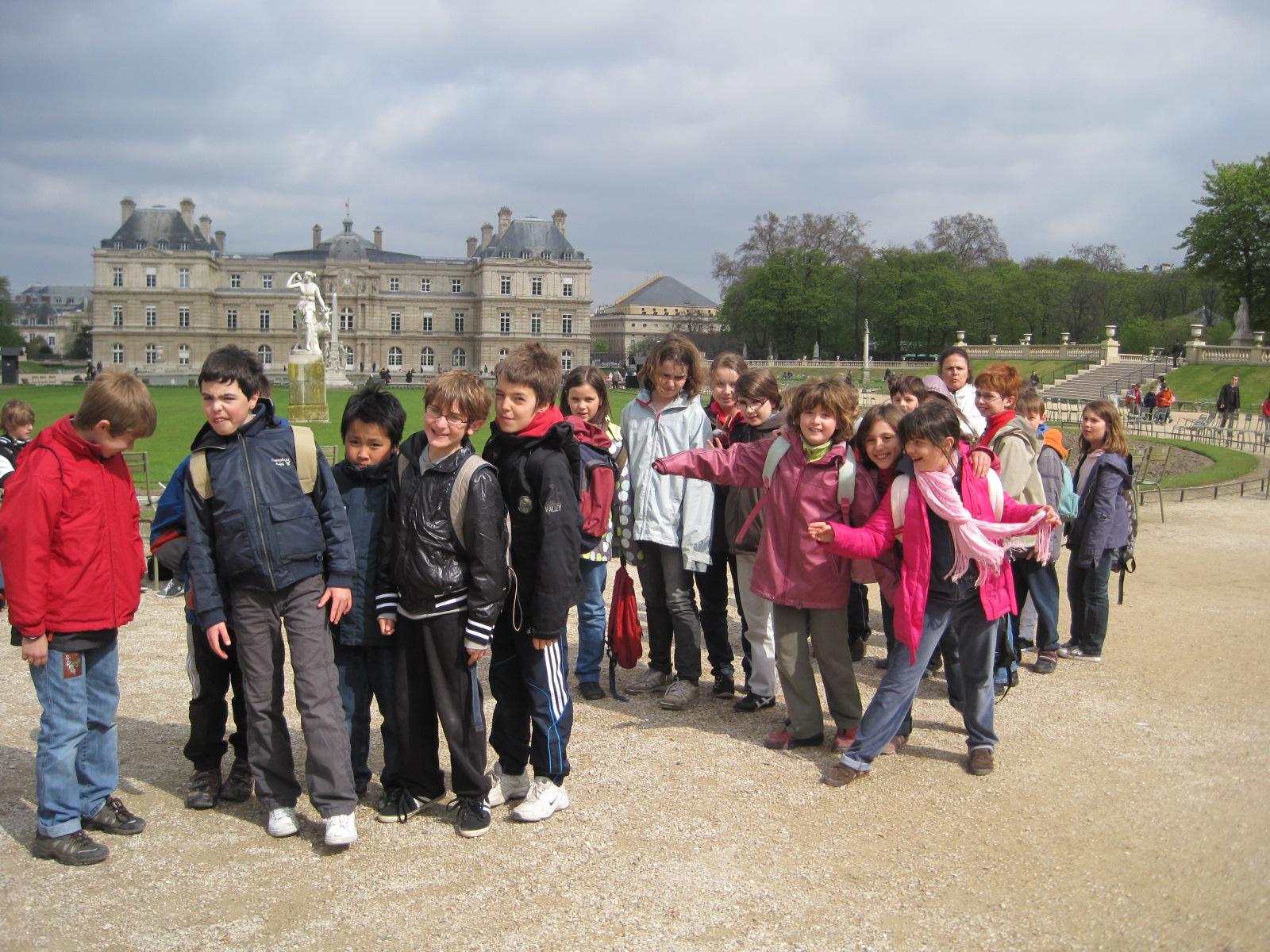 Sortie au jardin du luxembourg et th tre blog des cm2 for Aller au jardin du luxembourg