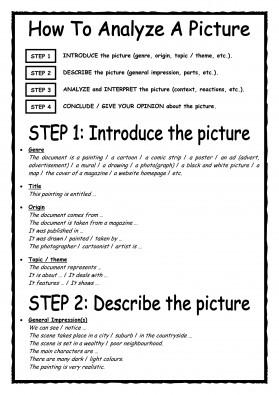 Decrire Un Document Iconographie Genlangues