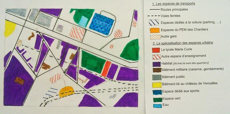 Versailles 1 rees3 lyc e marie curie versailles for Espace public pdf