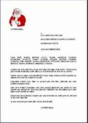 Exemple De Lettre Pour Le Pere Noel.Modele De Lettre Au Pere Noel