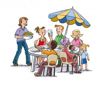 Repas du club presse mardi 19 juin 12h30 au cdi le for Idee repas convivial en famille