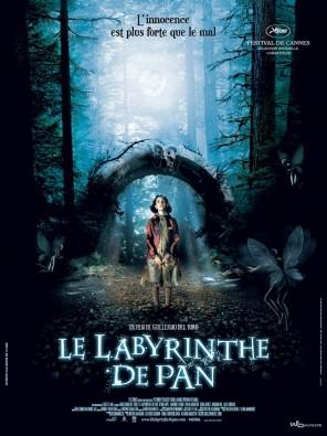 Le Labyrinthe de Pan, Guillermo Del Toro ; affiche du film