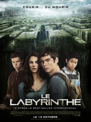 Le Labyrinthe, Wes BALL ; affiche du film