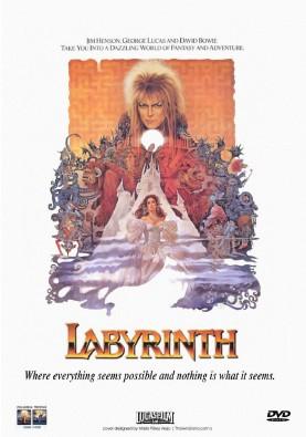 Labyrinthe, Jim: HENSON ; affiche du film