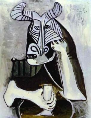 Le Roi des Minotaures, Pablo PICASSO