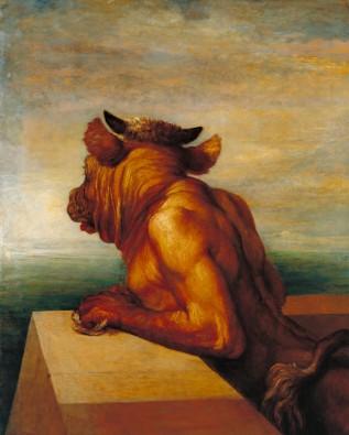 The Minotaur (1885)  George Frederic WATTS