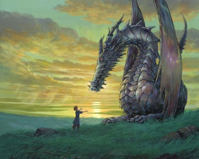 Les Contes de Terremer de Goro MIYAZAKI, source : http://www.manga-news.com