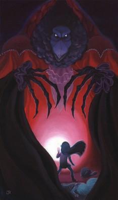 Dark Crystal (fan art) © Julie Rouviere ; reproduit avec l'aimable autorisation de la dessinatrice