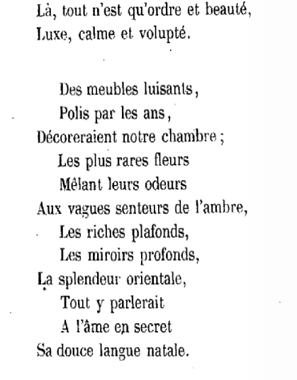 Baudelaire linvitation au voyage les l du dsir citations stopboris Gallery