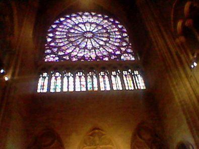 Lintérieur De La Cathédrale Notre Dame De Paris Le Pariss Des